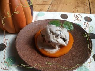バターナッツかぼちゃのシナモンソテー アイス添え.jpg